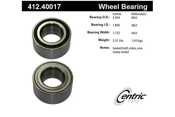 centric-CE 41240017 Fro