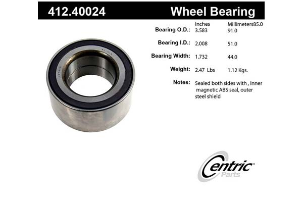 centric-CE 41240024 Fro