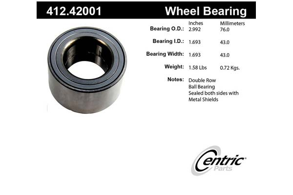 centric-CE 41242001 Fro