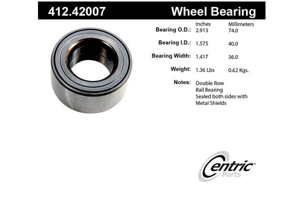 centric-CE 41242007 Fro