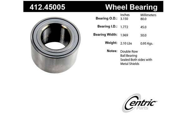 centric-CE 41245005 Fro