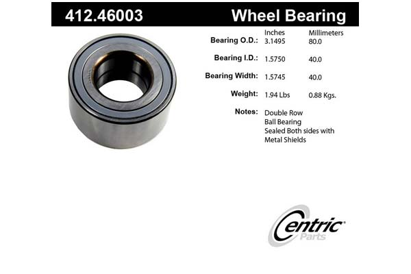centric-CE 41246003 Fro