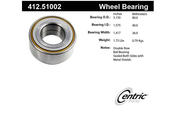 centric-CE 41251002 Fro