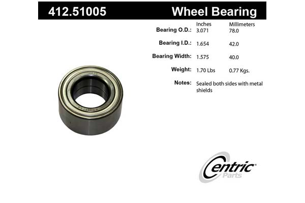 centric-CE 41251005 Fro