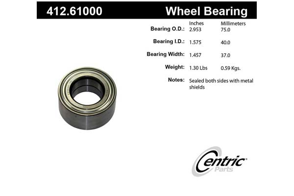 centric-CE 41261000 Fro