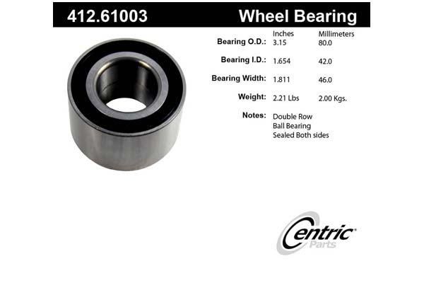 centric-CE 41261003 Fro