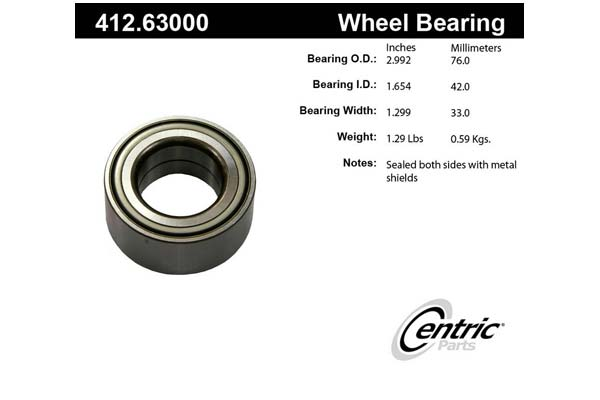 centric-CE 41263000 Fro