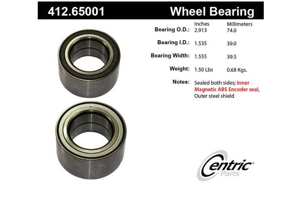 centric-CE 41265001 Fro