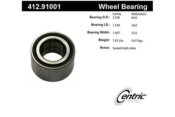centric-CE 41291001 Fro