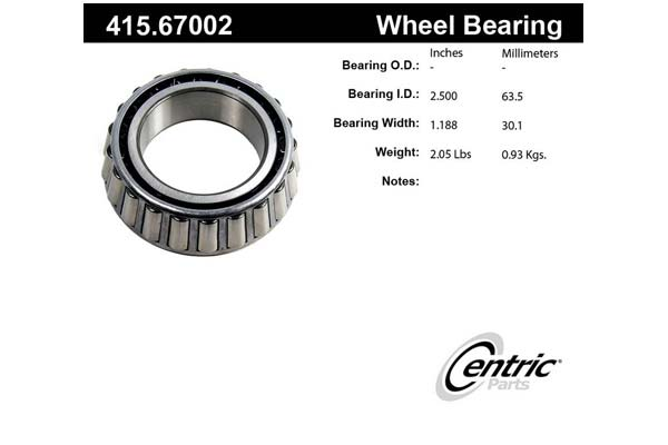 centric-CE 41567002 Fro
