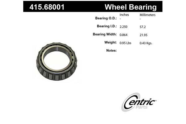 centric-CE 41568001E Fro