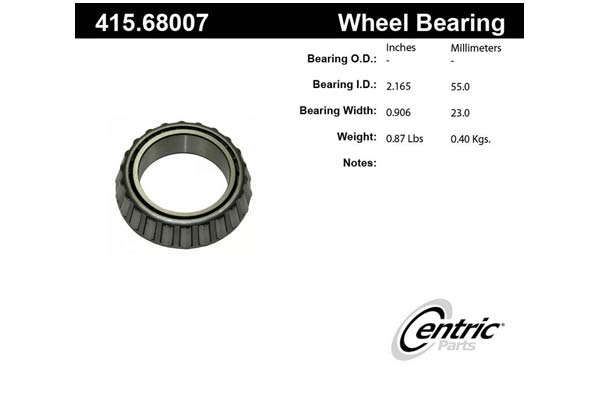 centric-CE 41568007E Fro