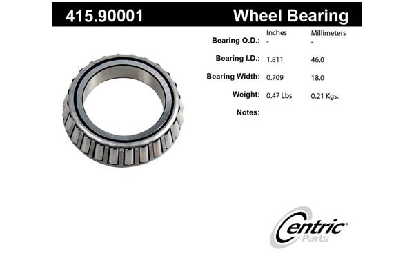 centric-CE 41590001 Fro