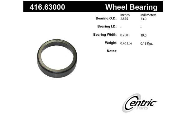 centric-CE 41663000 Fro