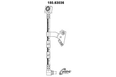 centric-CE 15063036 Fro
