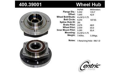 centric-CE 40039001E Fro
