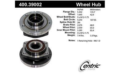 centric-CE 40039002E Fro