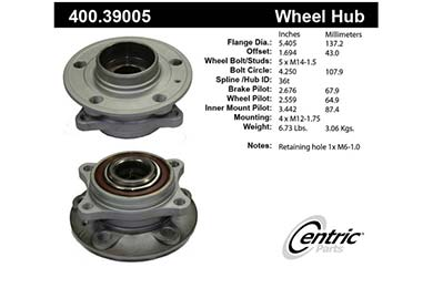 centric-CE 40039005E Fro