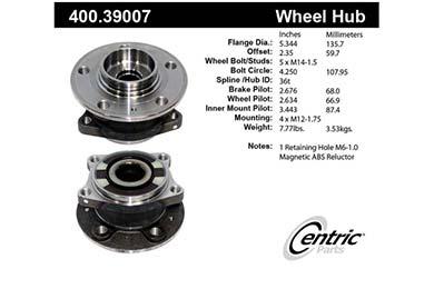 centric-CE 40039007E Fro