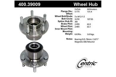 centric-CE 40039009E Fro