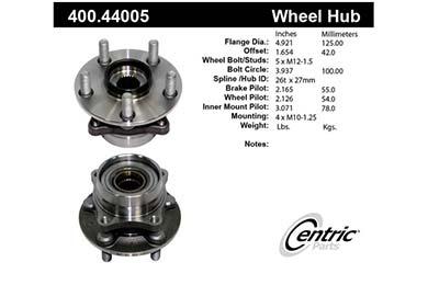 centric-CE 40044005E Fro