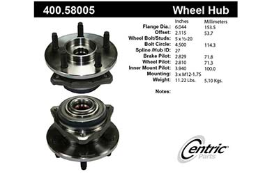 centric-CE 40058005E Fro