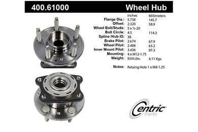 centric-CE 40061000E Fro