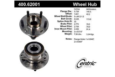centric-CE 40062001E Fro