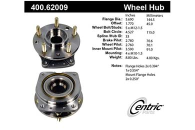 centric-CE 40062009E Fro