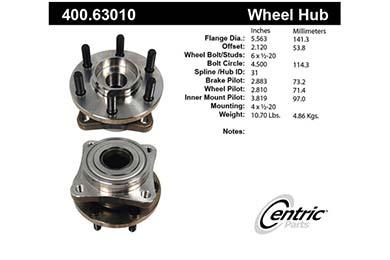 centric-CE 40063010E Fro