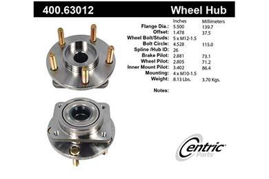 centric-CE 40063012E Fro