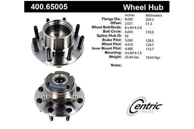 centric-CE 40065005E Fro