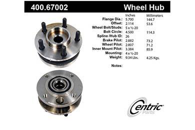 centric-CE 40067002E Fro