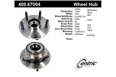 centric-CE 40067004E Fro