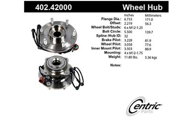 centric-CE 40242000 Fro