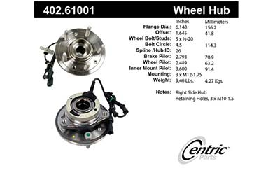 centric-CE 40261001 Fro