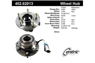 centric-CE 40262013 Fro