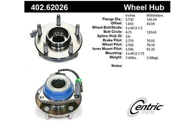 centric-CE 40262026 Fro
