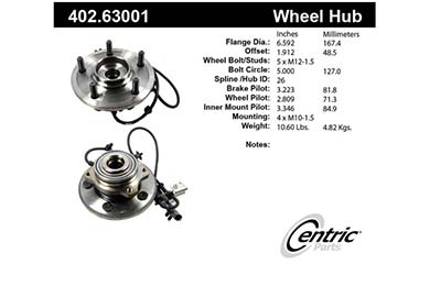 centric-CE 40263001 Fro