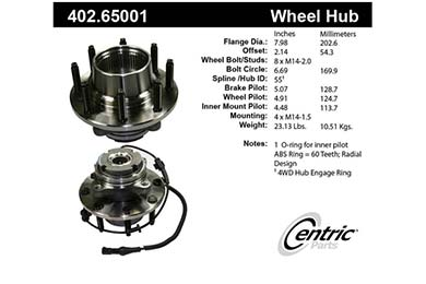 centric-CE 40265001 Fro