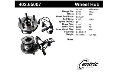 centric-CE 40265007 Fro