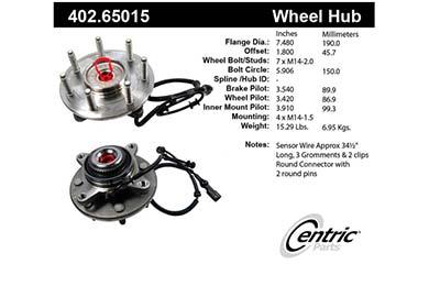 centric-CE 40265015E Fro