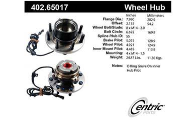 centric-CE 40265017E Fro