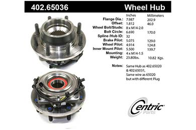 centric-CE 40265036 Fro