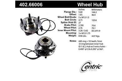 centric-CE 40266006 Fro