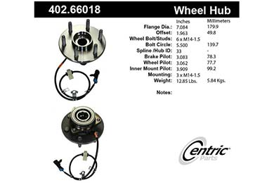 centric-CE 40266018 Fro