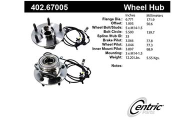 centric-CE 40267005 Fro