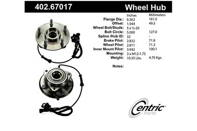 centric-CE 40267017 Fro