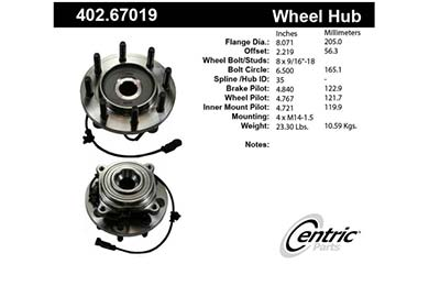 centric-CE 40267019 Fro