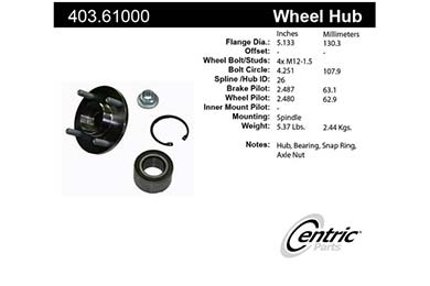 centric-CE 40361000 Fro